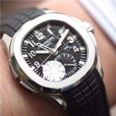 百达翡丽AQUANAUT系列5164A-001腕表【GR厂一比一高仿手表】