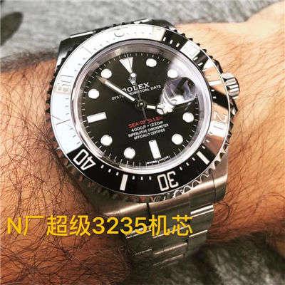 【N厂放大招~超级神器】劳力士海使型系列单红126600腕表,顶级高仿价格报价