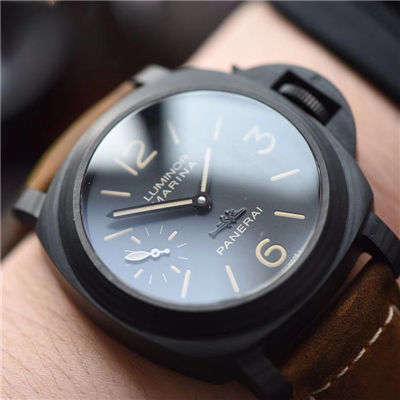 【XF一比一超A精仿手表】沛纳海特别版腕表系列PAM 0360、PAM 00416碳纤维腕表价格报价