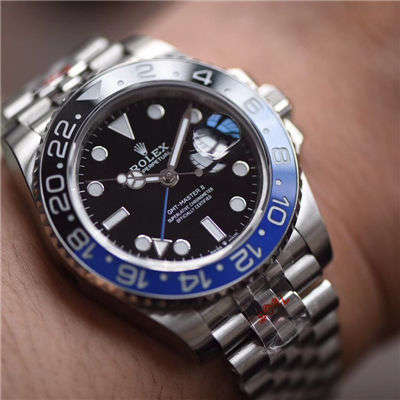 【GM一比一顶级高仿手表】劳力士格林尼治型II系列m126710blnr-0002腕表价格报价