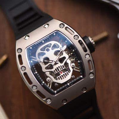 天降神器!理查德米勒2019年最劲爆的陀飞轮腕表,RM052至尊鬼王骷髅头震撼上市价格报价