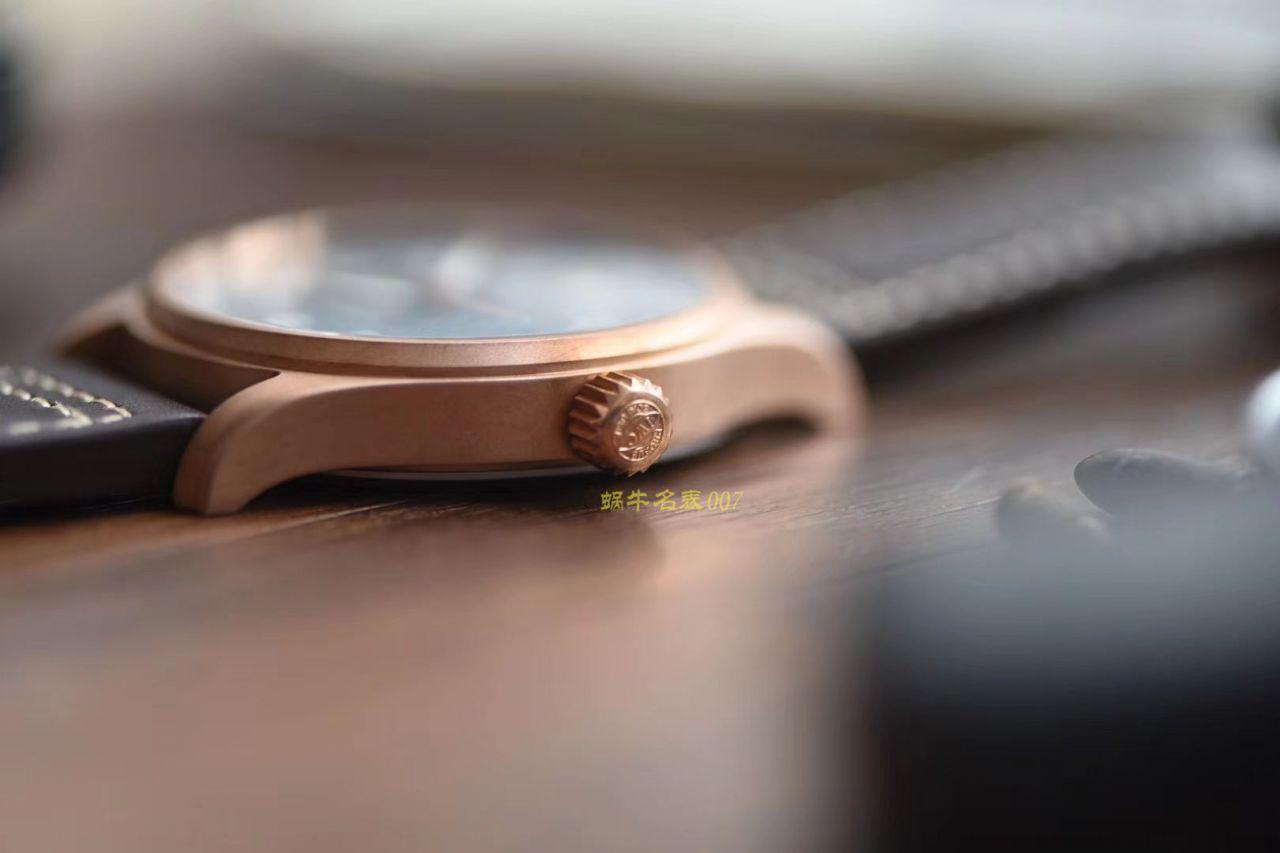 IWC万国表飞行员系列IW326802青铜腕表【XF厂一比一超A高仿】 / WG182