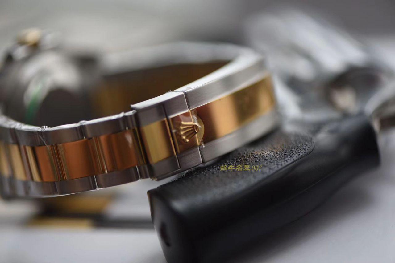 劳力士潜航者型系列116613-LN-97203黑盘腕表【AR厂一比一复刻间金黑水鬼手表】 / R273