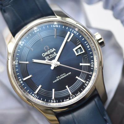 欧米茄碟飞系列433.33.41.21.03.001腕表【VS一比一精仿手表】明亮之蓝价格报价