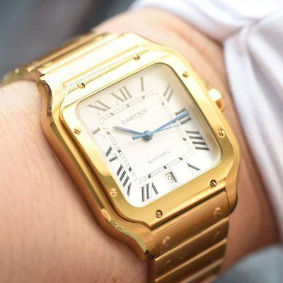 卡地亚山度士系列WGSA0009(大号)腕表【KOR一比一复刻手表】