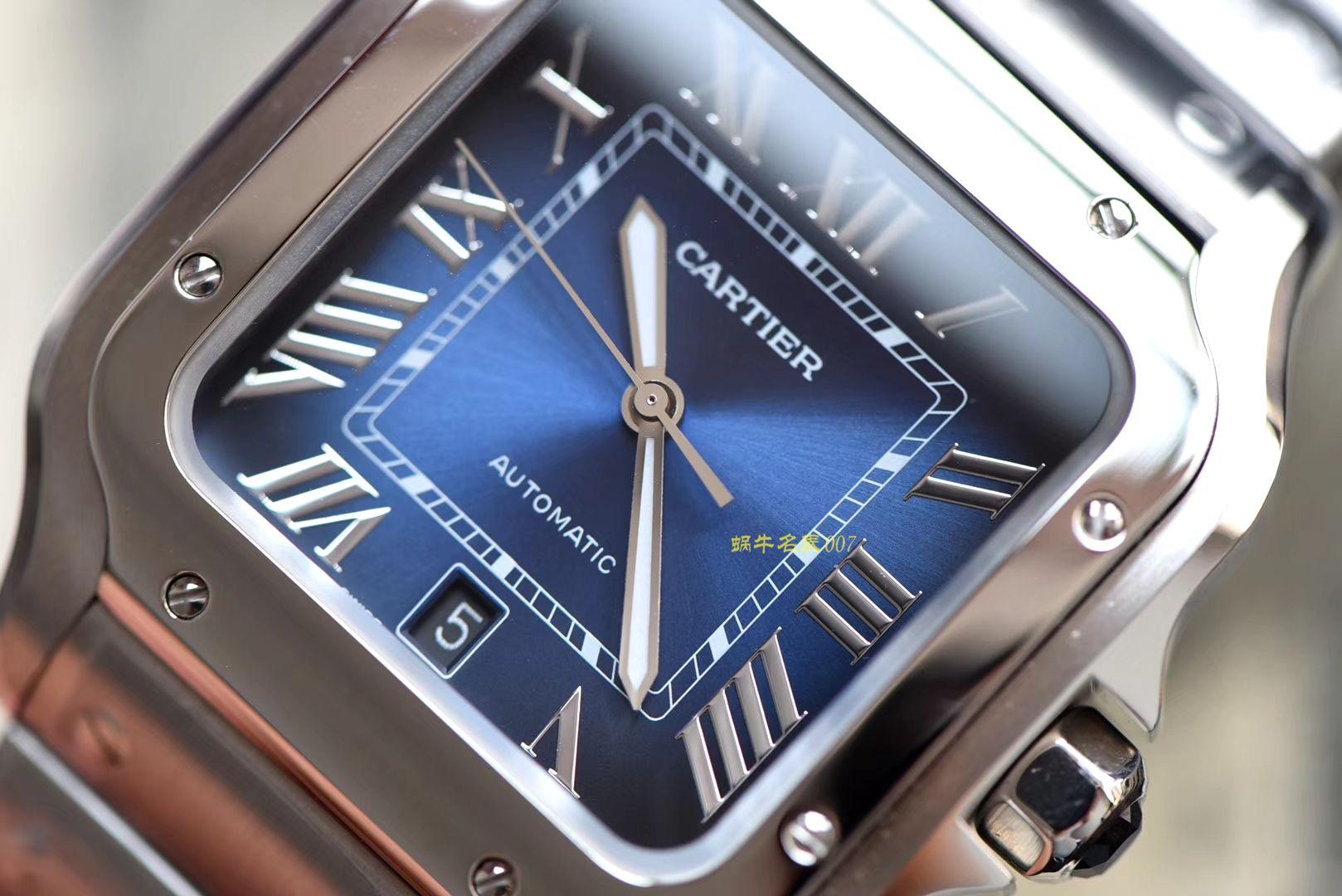 卡地亚山度士系列WSSA0013(大号)腕表【KOR一比一高仿手表】 / K193