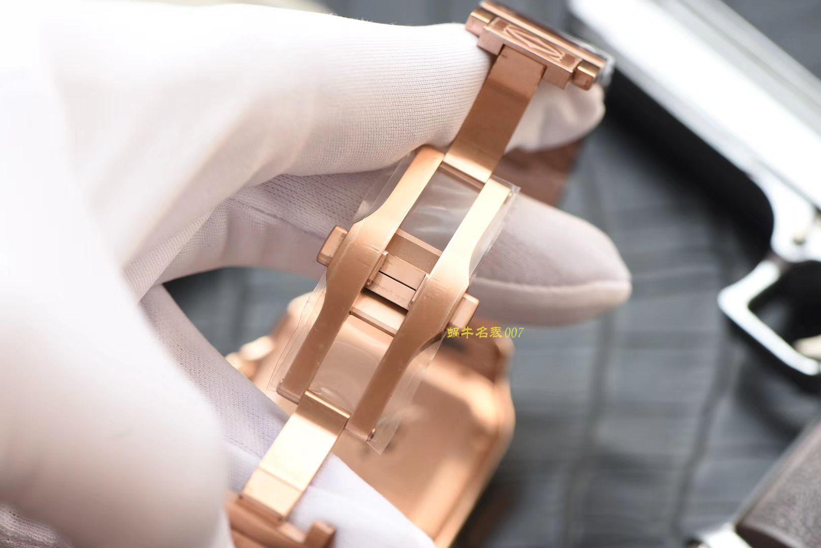 卡地亚山度士系列WGSA0007(大号)腕表【KOR一比一精仿手表】 / K196