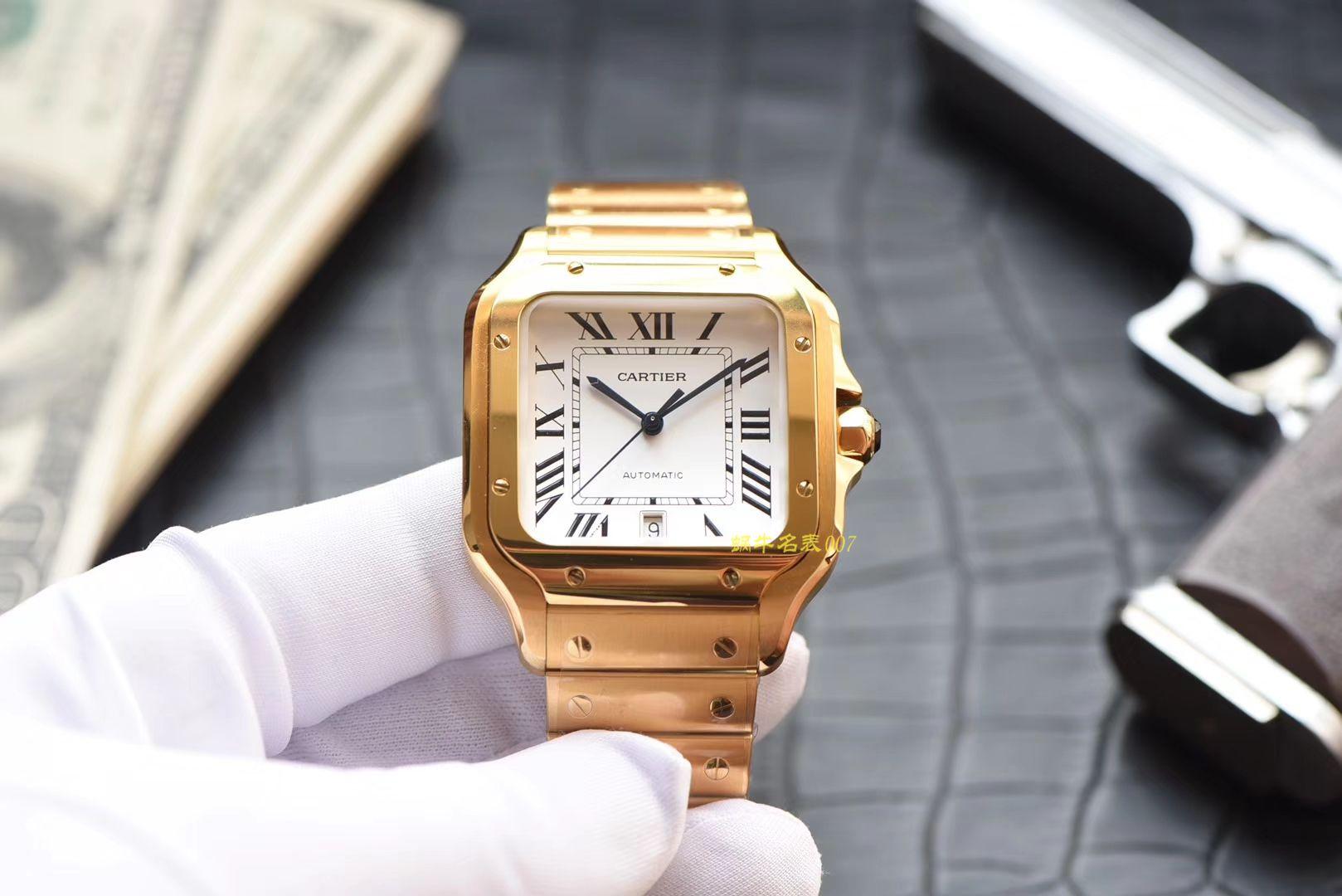 卡地亚山度士系列WGSA0009(大号)腕表【KOR一比一复刻手表】 / K195