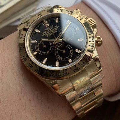 劳力士宇宙计型迪通拿系列116508黑盘腕表【AR精仿劳力士手表】价格报价