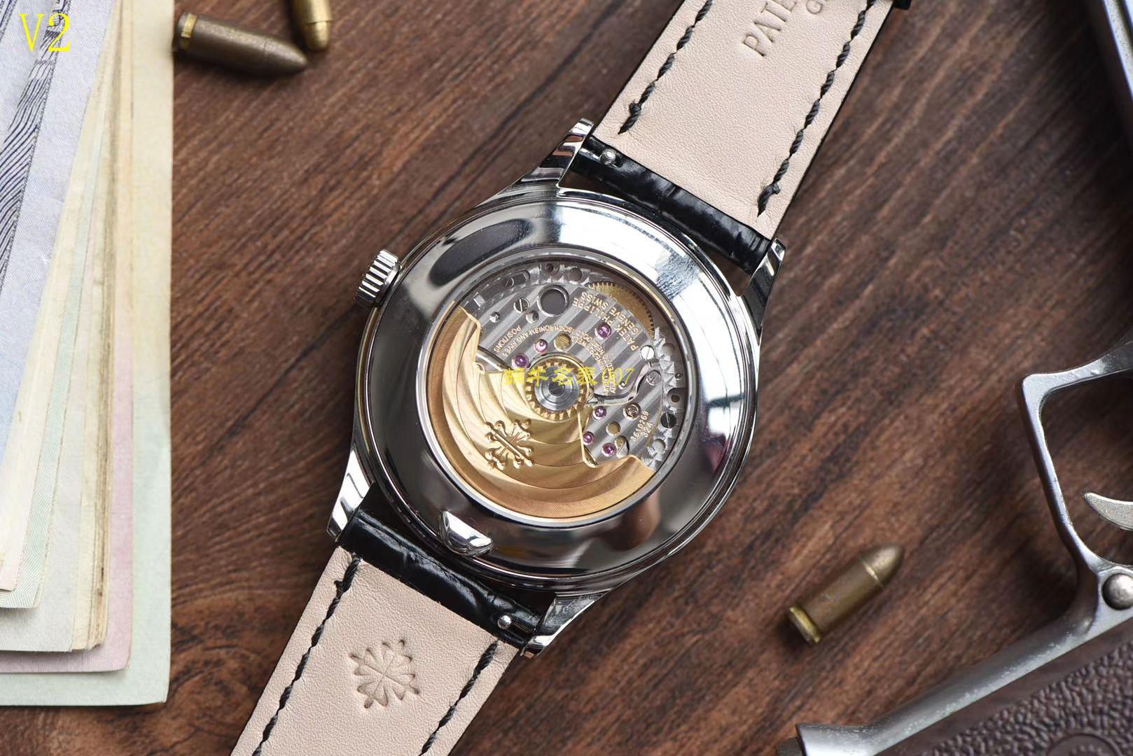 【台湾厂一比一精仿手表】百达翡丽复杂功能计时系列5396G-011男表 / BD170