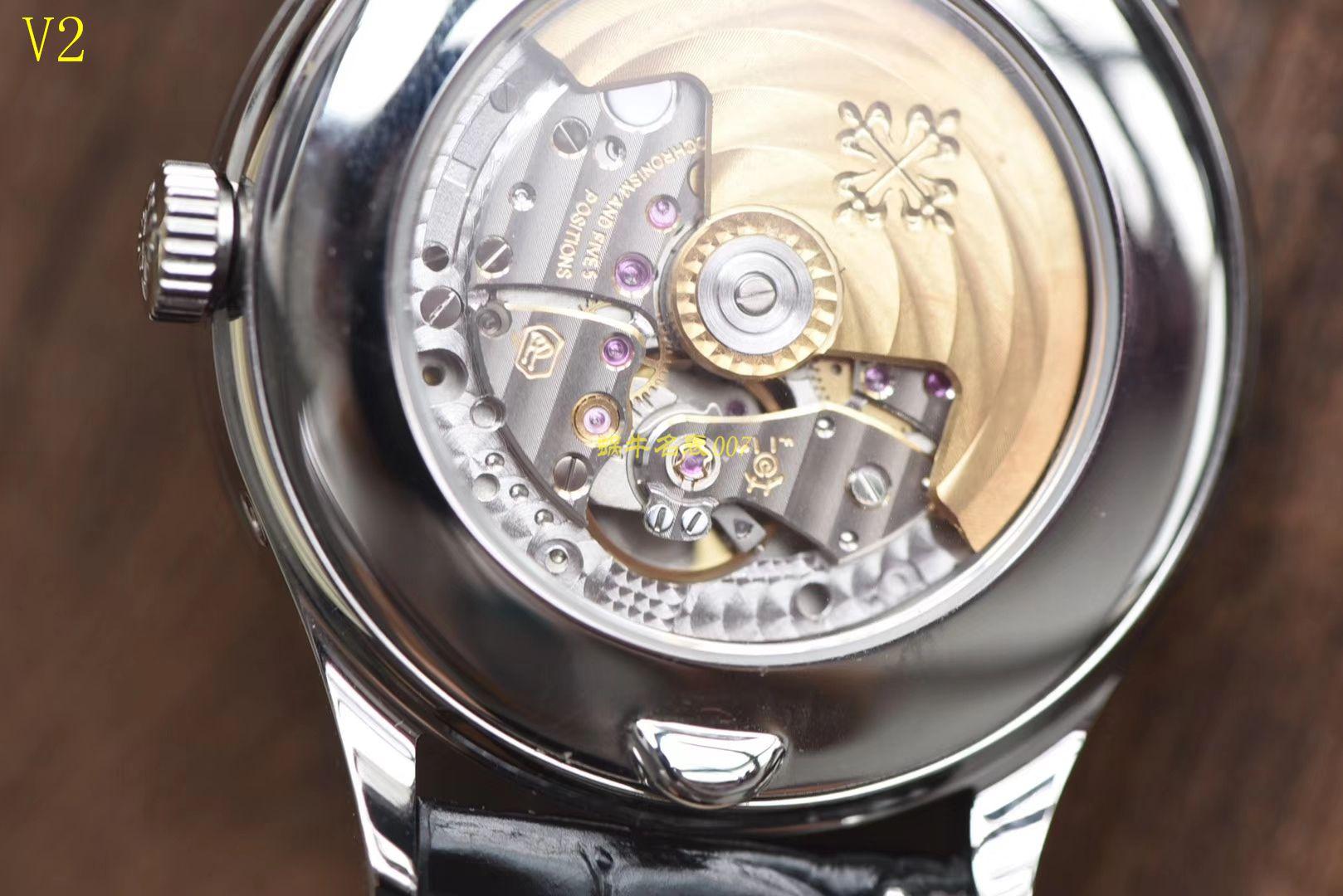 【台湾厂一比一超A精仿手表】百达翡丽复杂功能计时系列5396G 白金男表 / BD168