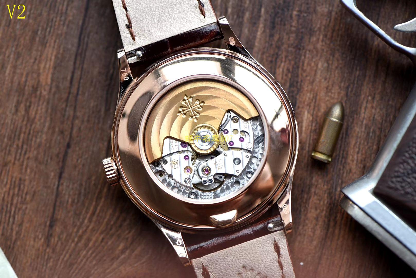 百达翡丽复杂功能计时系列5396R-015腕表【KM一比一高仿手表】 / BD230