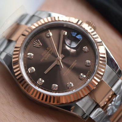 劳力士日志型系列m126331-0003腕表【AR一比一精仿手表】价格报价