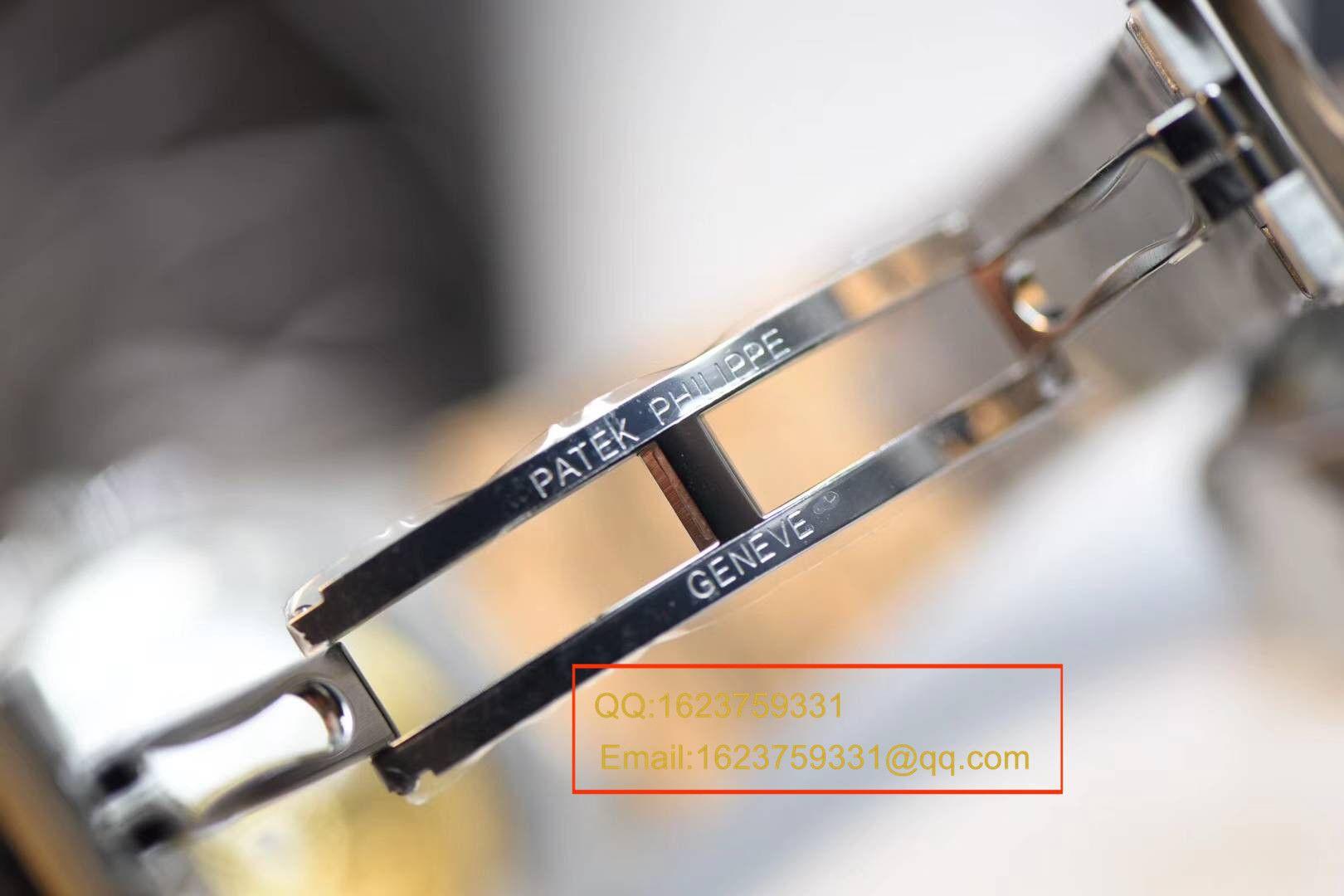 视频评测百达翡丽运动系列5711/1A 010 不锈钢腕表(鹦鹉螺钢王)【PF厂一比一超A高仿手表】 / BD232