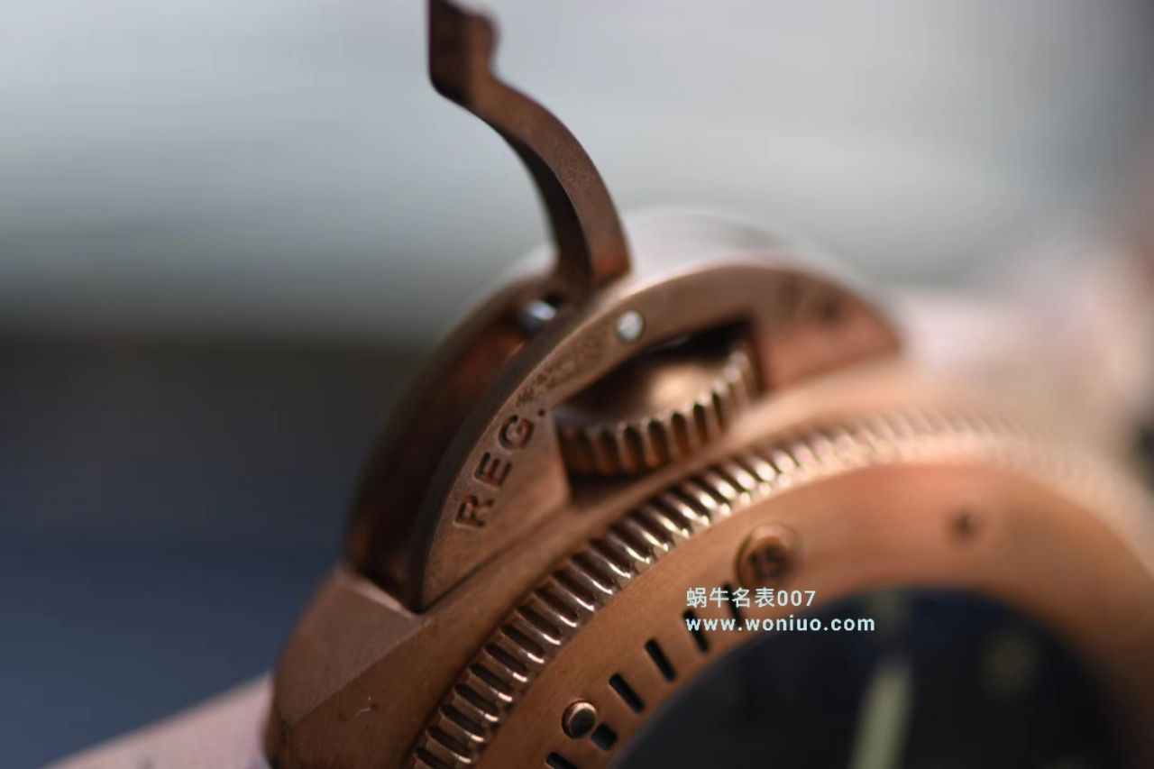 沛纳海特别版腕表系列PAM 00382腕表【VS一比一超A高仿】VS沛纳海 Pam382 升级V2版本青铜战士史泰龙电影同款 / VS00382