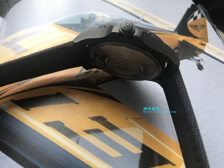 【视频评测专柜原单百年灵复仇者黑鸟】百年灵机械计时系列V1731110/BD74/109W/M20BASA.1腕表 / BL093
