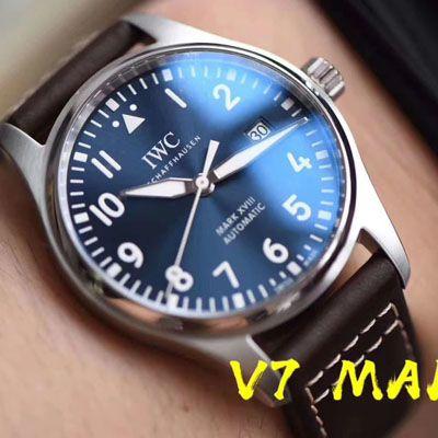 IWC万国表飞行员马克十八系列IW327004腕表(小王子)【V7一比一高仿手表】V7厂重磅力推,良心升级价格报价