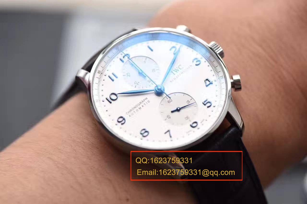 视频评测顶级复刻IWC万国表葡萄牙系列IW371491腕表【YL厂V7版本万国葡计】 / WG315MM