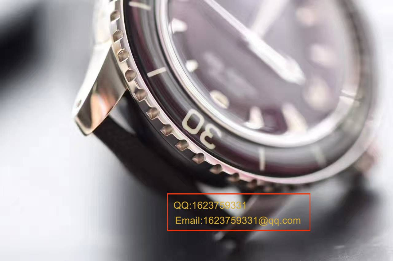 视频评测宝珀五十噚系列5015-1130-52A腕表【ZF厂宝珀五十噚,正品开模一比一复刻】 / BPBI026MM