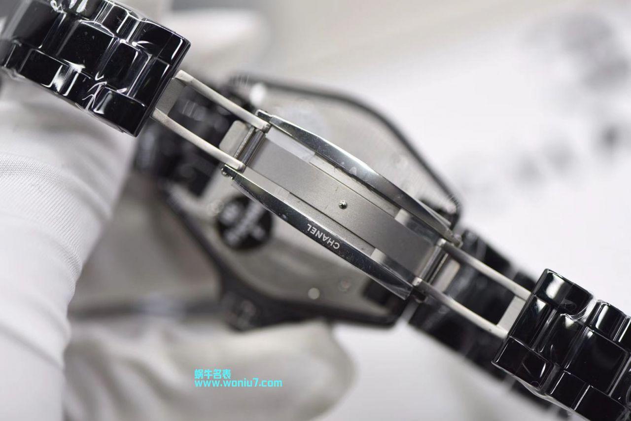 视频评测KOR出品香奈儿 J12 Coco小姐 限定版MADEMOISELLE女士腕表 / X037MM