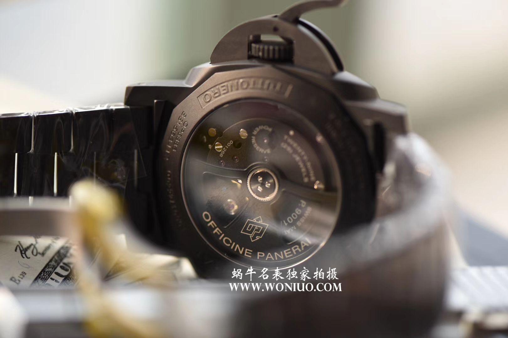视频评测沛纳海LUMINOR 1950系列PAM00438腕表一比一复刻【VS出品沛纳海PAM00438手表V2版本】 / VSPAM00438MM
