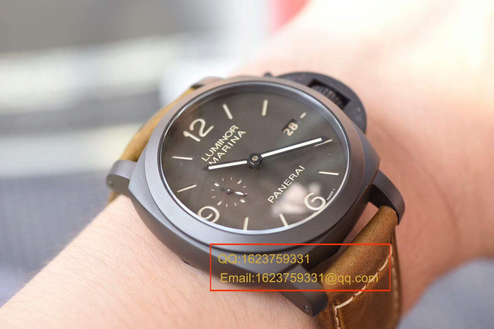 视频评测沛纳海LUMINOR 1950系列PAM 00386腕表【VS厂一比一复刻手表】 / VSPAM00386MM