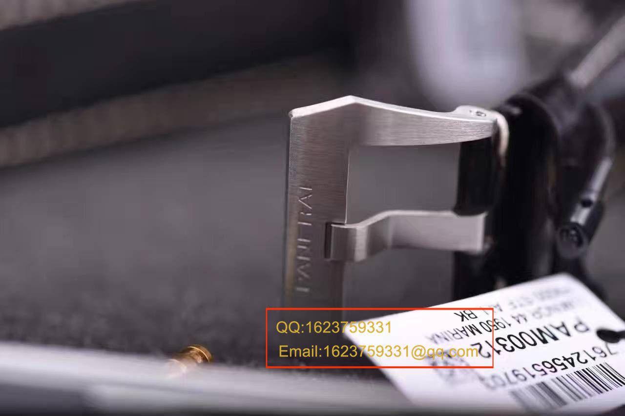 视频评测Panerai沛纳海LUMINOR 1950系列PAM 00312腕表【VS厂一比一复刻手表】 / VSPAM00312MM
