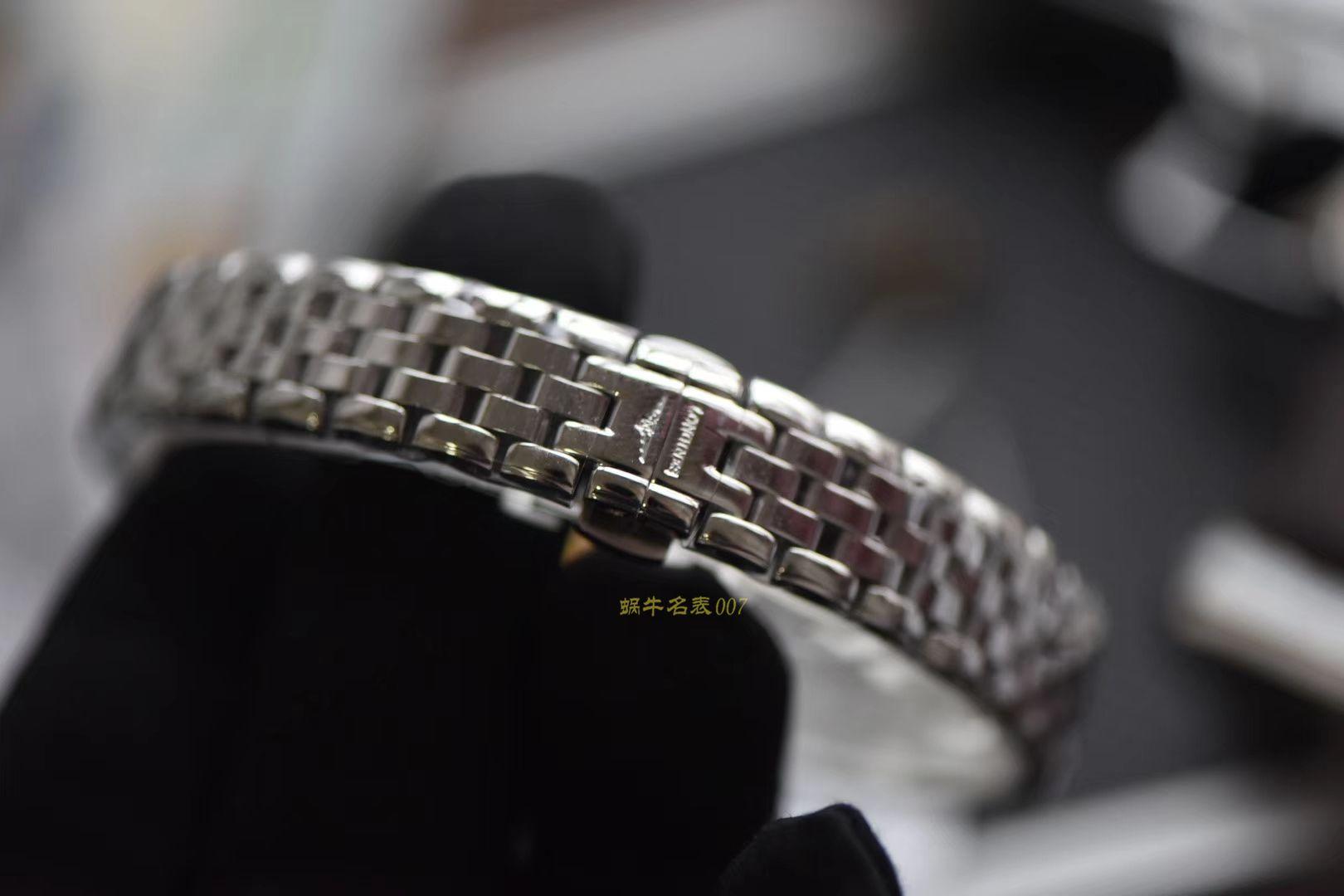 视频评测台湾厂一比一超A高仿浪琴制表传统系列L4.309.4.87.6腕表女装 / L106