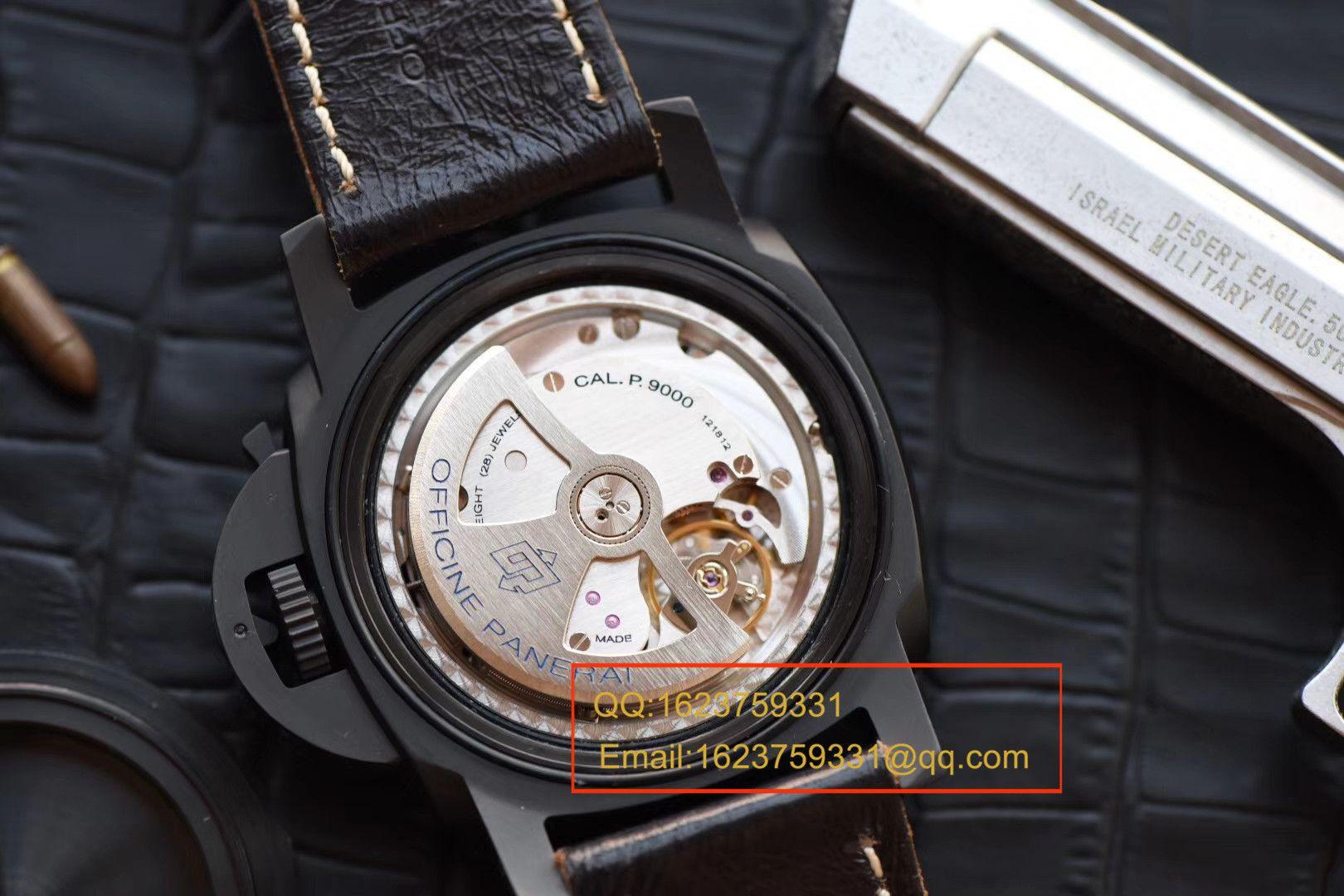 视频评测沛纳海特别版腕表系列PAM 00508腕表【VS一比一顶级复刻手表】VS 508 V2 升级版 / VSPAM00508MM
