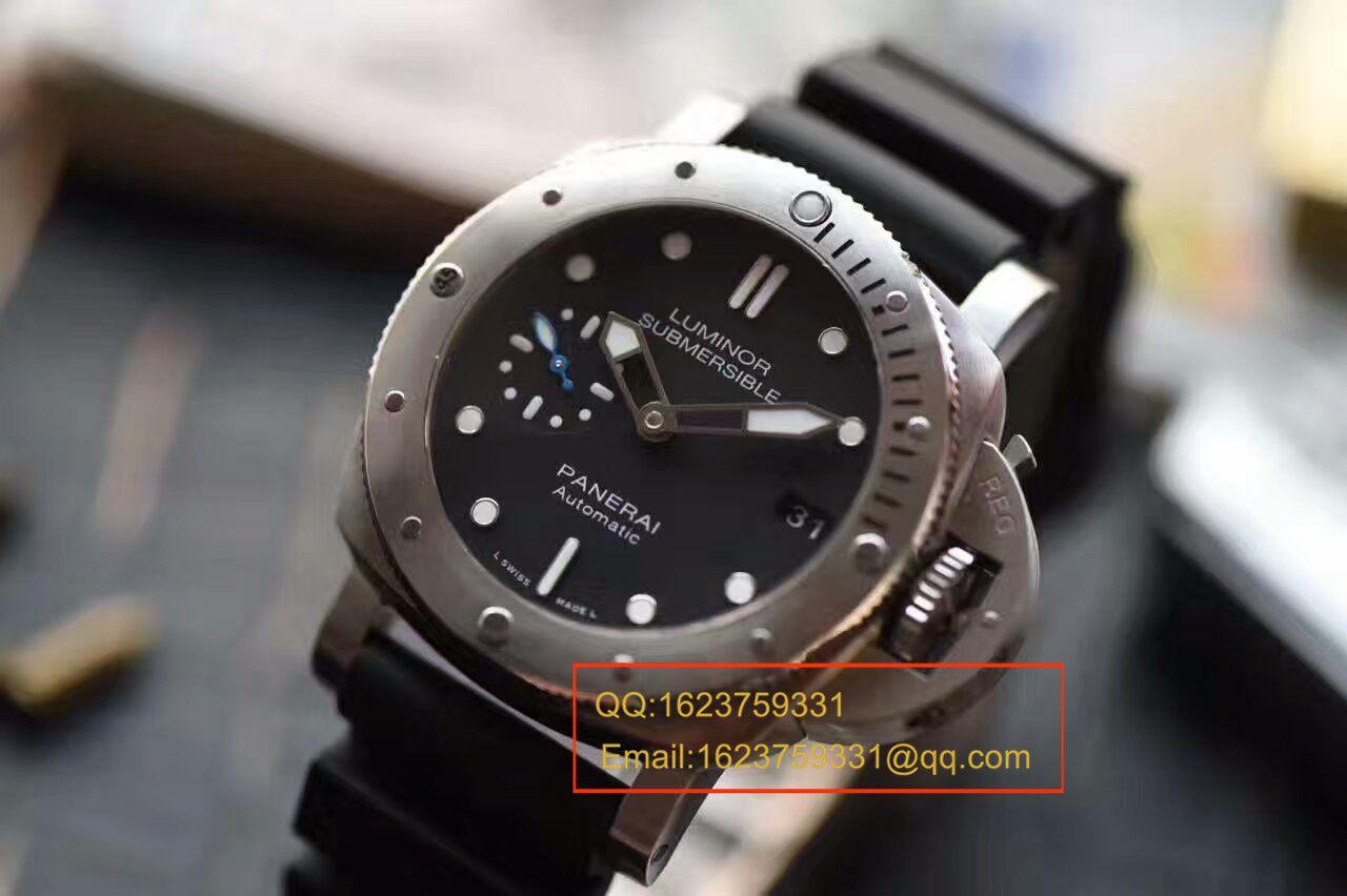 视频评测沛纳海SUBMERSIBLE 潜行系列PAM00682腕表一比一高仿【XF厂新升级版:佩纳海男女都可以佩戴】 / XFPAM00682MM