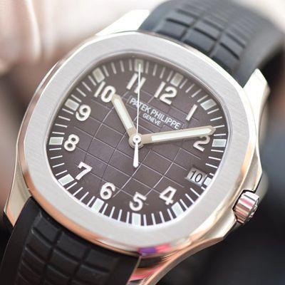 视频评测百达翡丽AQUANAUT系列5167A-001腕表【PF厂一比一精仿百达翡丽手雷手表】