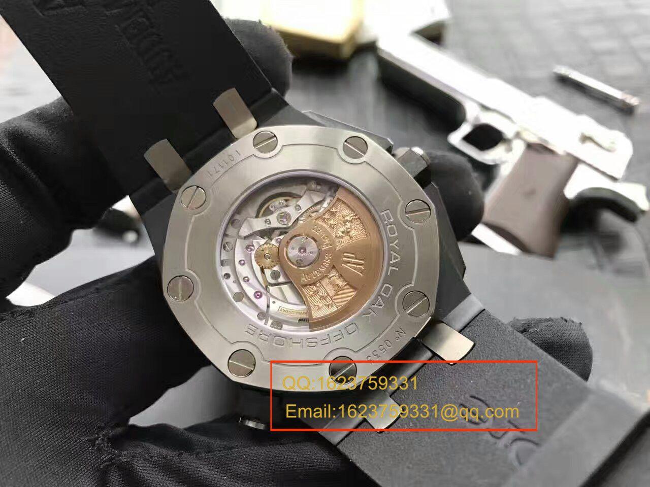 视频评测Audemars Piguet爱彼皇家橡树离岸型系列15707CE.OO.A002CA.01腕表【JF厂一比一超A高仿】 / JF15707MM