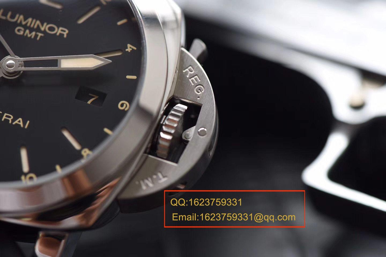 视频评测沛纳海LUMINOR 1950系列PAM00531腕表一比一高仿手表【VS出品,PAM531  GMT 两地时】 / VSPAM00531MM