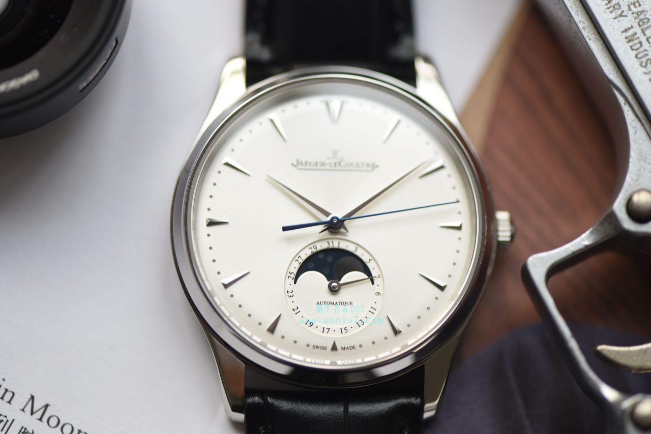 视频评测积家大师系列1368420腕表一比一高仿手表【ZF厂新品,积家月相大师系列】 / JJ123MM