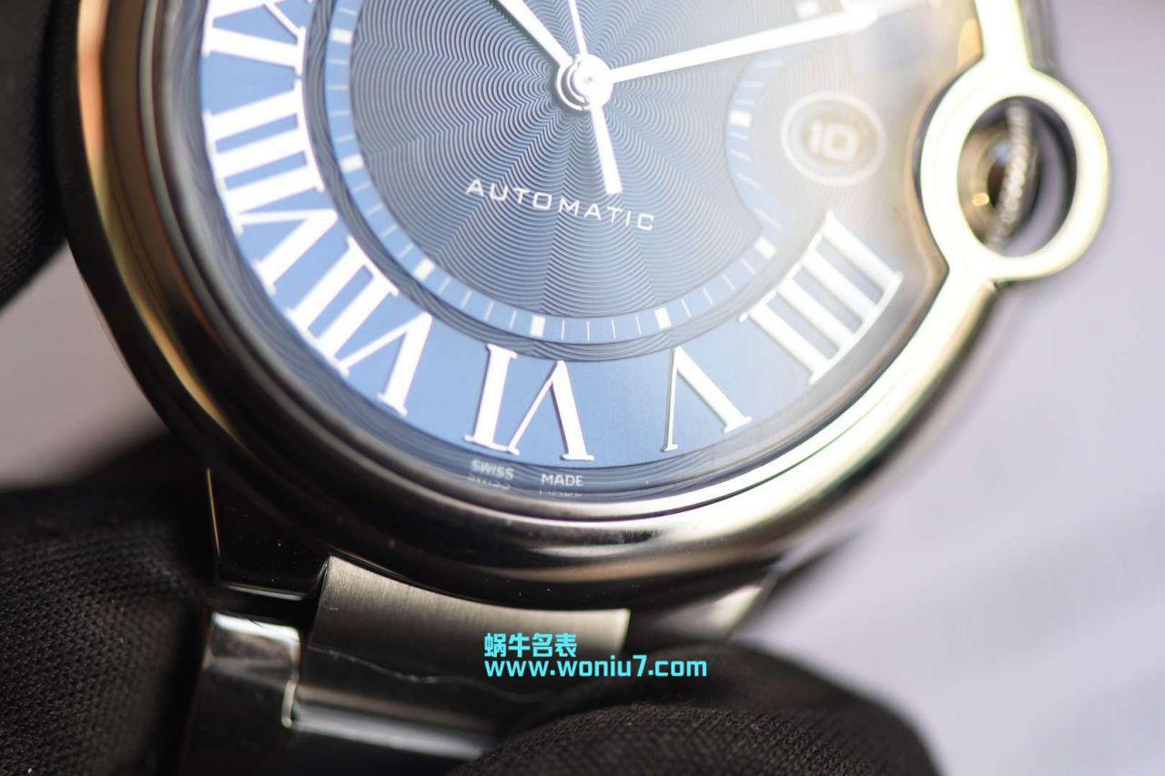 视频评测卡地亚蓝气球系列WSBB0025腕表男款42MM钢带款【HBBV6厂一比一复刻~蓝气球42mm新款蓝面】 / K169MM