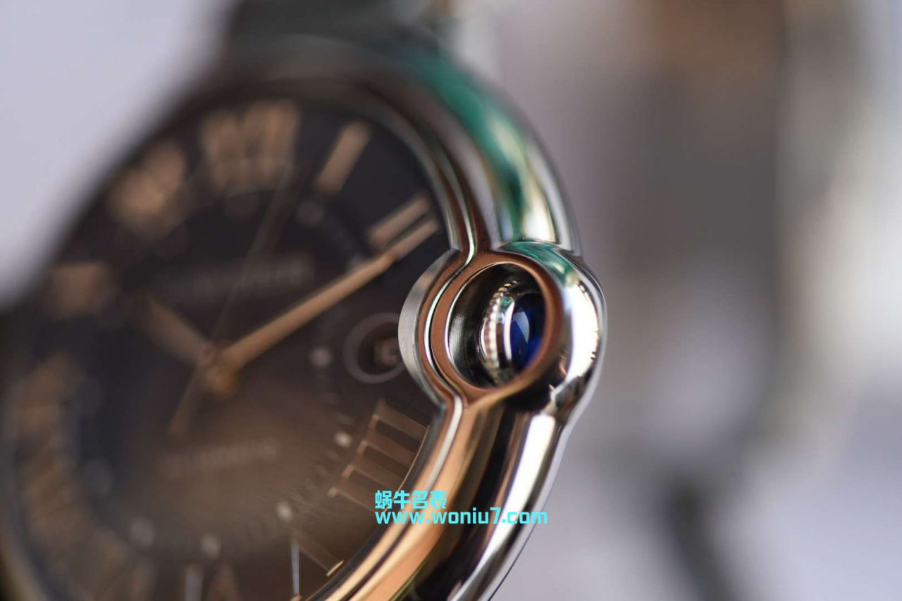 视频评测卡地亚蓝气球系列WSBB0025腕表男款42MM钢带款【HBBV6一比一复刻~蓝气球42mm新款蓝面】 / K169MM