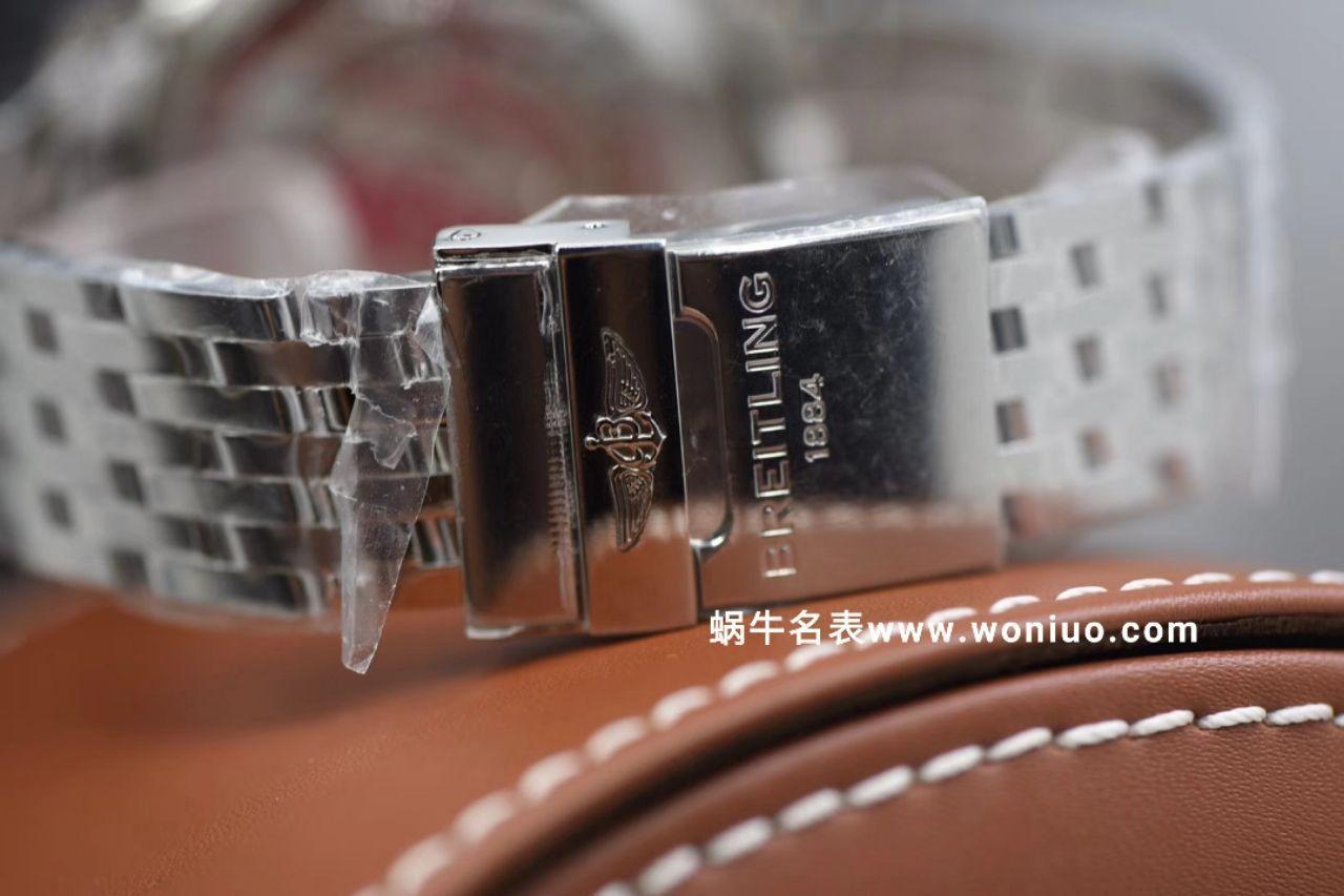 视频评测渠道原单货Breitling百年灵航空计时1系列A1332412|C942|451A腕表【百年灵航空计时,老毒物】 / BL083AMM
