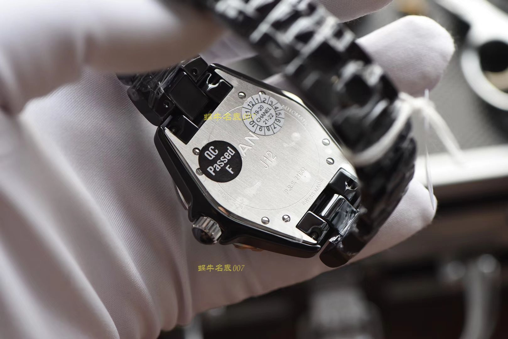 香奈儿J12系列H5581腕表一比一复刻【 KOR出品 韩版CHANEL J12香 奈 儿INTENSE 重置加强版】 / X39