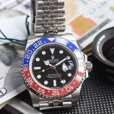 【视频评测】劳力士格林尼治型II系列126710BLRO-0001腕表一比一超A高仿【DJ超級格林尼治二代126710 可乐圈GMT!真正红蓝陶瓷圈3186机芯】价格报价