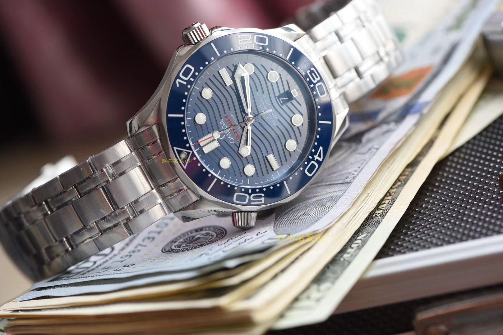 【视频评测】欧米茄海马系列210.30.42.20.03.001腕表(VS厂一比一高仿手表007代言广告款) / M360