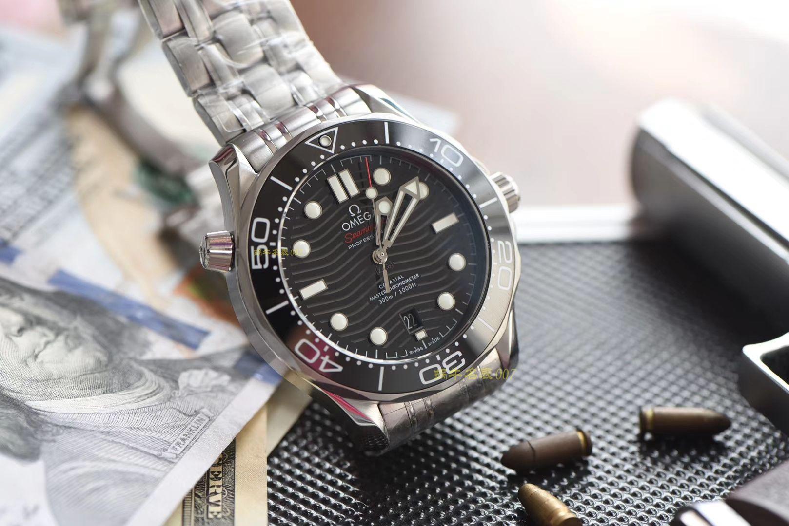 【视频评测】欧米茄海马系列210.30.42.20.01.001腕表(VS厂一比一超A精仿) / M361