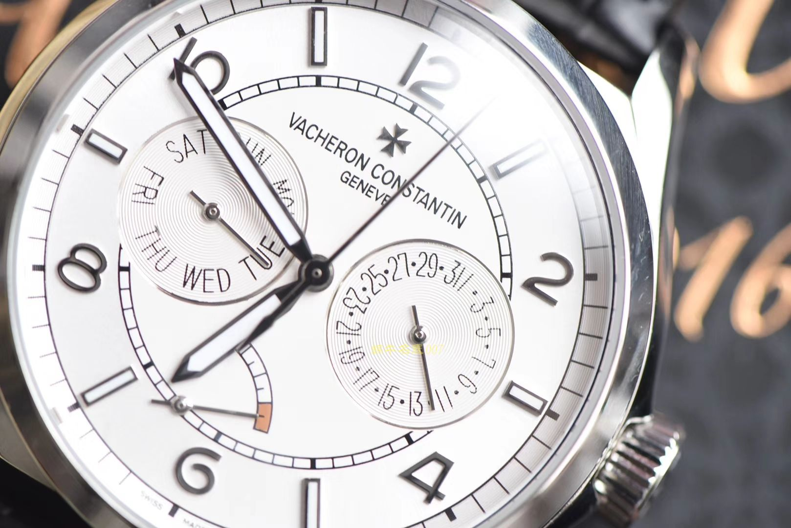 【视频评测TWA一比一高仿手表】江诗丹顿伍陆之型系列4400E/000A-B437腕表 / JS193