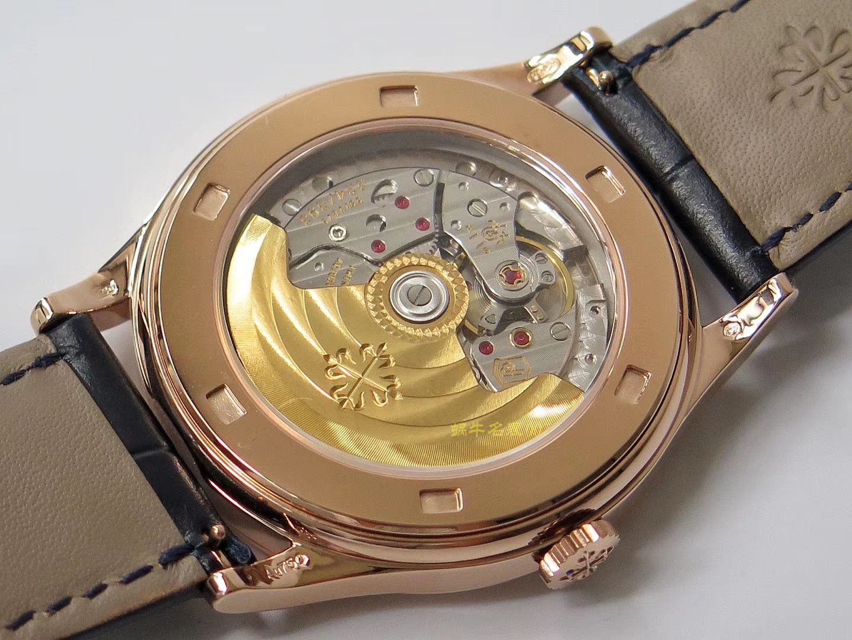 【ZF一比一顶级复刻】百达翡丽古典表系列5296R-001 玫瑰金腕表 / BD237