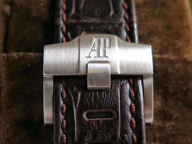 """爱彼皇家橡树离岸型系列26470ST.OO.A820CR.01腕表【JF一比一高仿手表】A P26470""""哈瓦那""""42毫米计时码表系列 / AP159"""