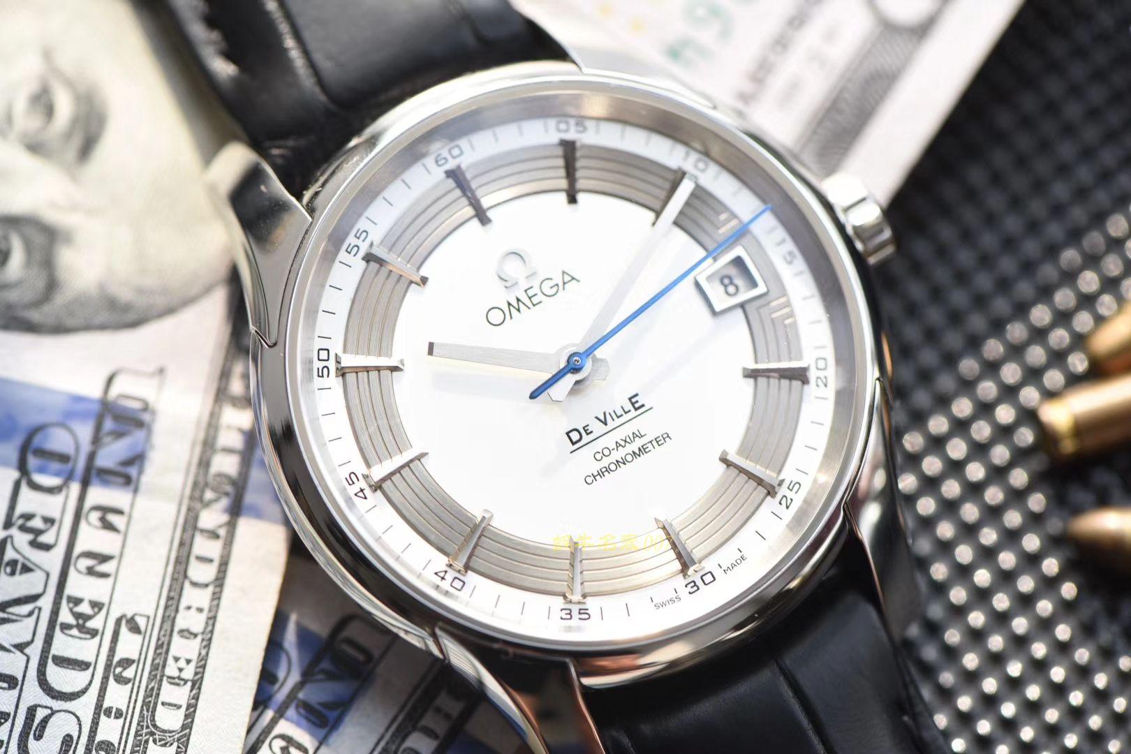 视频评测欧米茄碟飞系列431.33.41.21.02.001腕表【VS厂精品 蝶飞侧透 一比一超A高仿手表】 / M363