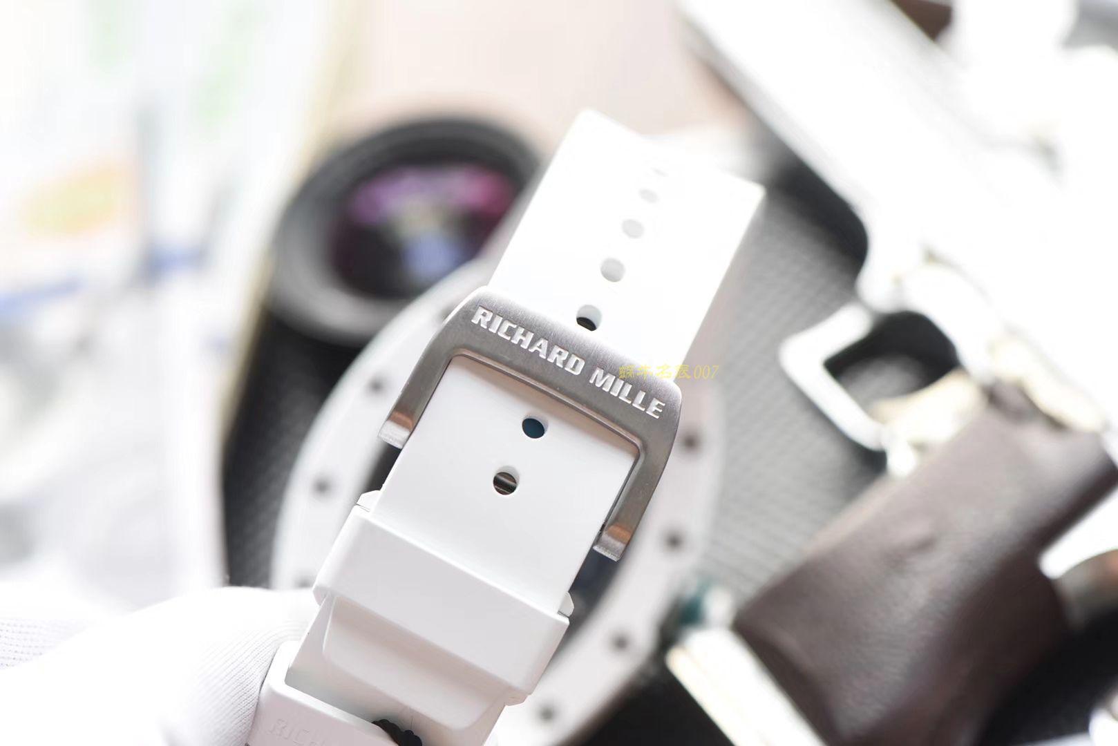 【视频评测】RICHARD MILLE里查德米尔男士系列RM 055腕表【KV一比一超A高仿手表】 / RM055HJ