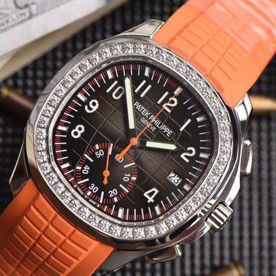 百达翡丽AQUANAUT系列5968A-001计时腕表【YL厂一比一超A精仿】