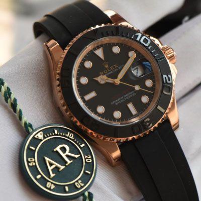 【视频评测】AR劳力士游艇名仕型系列116655-Oysterflex bracelet腕表(AR一比一高仿劳力士金游艇)价格报价