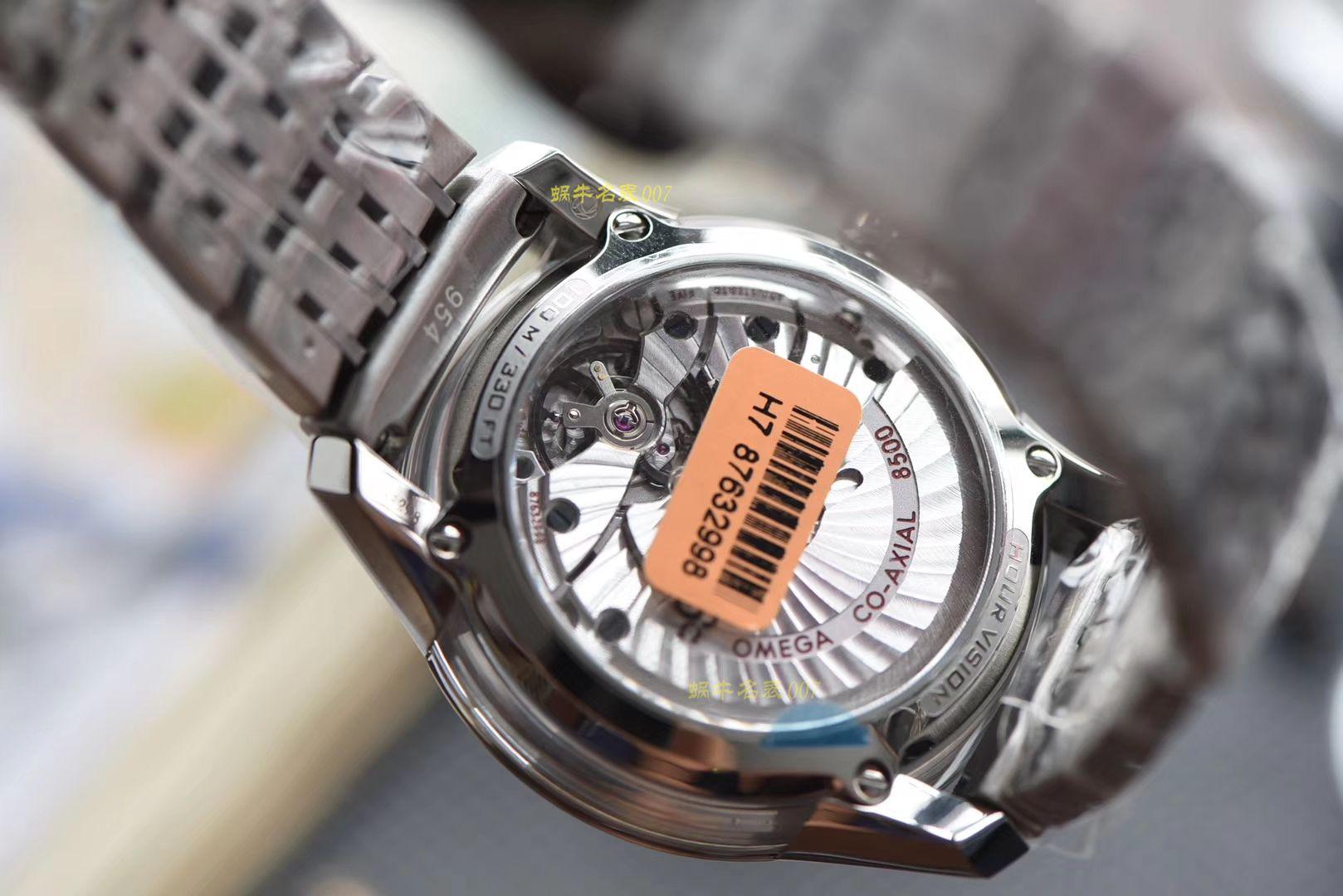 【视频评测】欧米茄碟飞系列431.30.41.21.02.001腕表【VS厂蝶飞明亮之白一比一高仿】 / M367