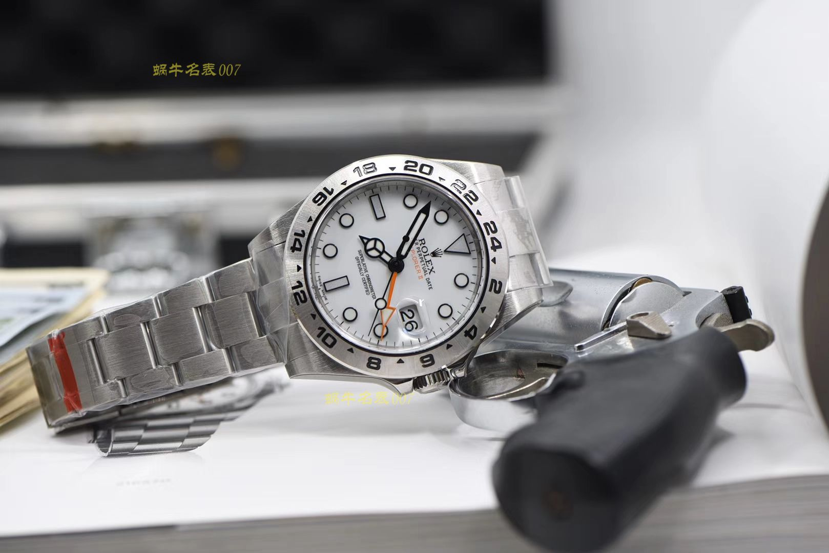 劳力士探险家型系列m216570-0001 白盘腕表一比一超A高仿【N厂探险家二代超级3187自动机械机芯】 / R316